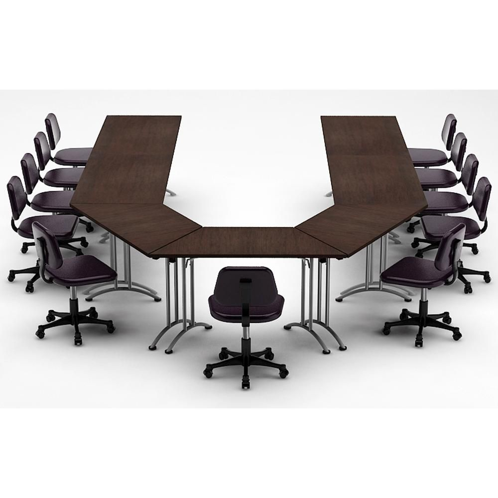 TeamWORK Tables 7-Piece Color Java Conference Tables