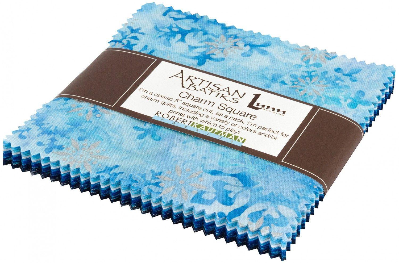 Woodside Blossom Vintage Charm Square 42 5-inch Squares Charm Pack Robert Kaufman Fabrics CHS-708-42
