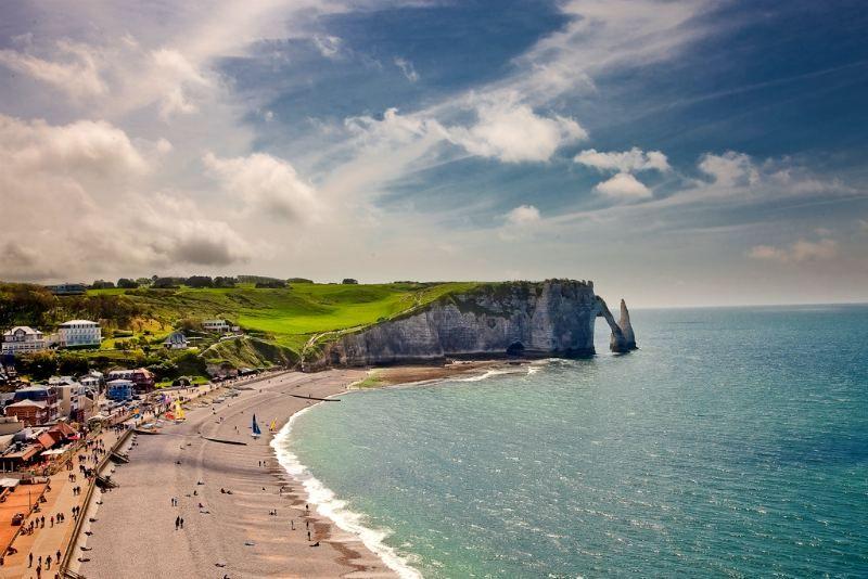 Best Étretat Normandia Bei Posti Paesaggi 400 x 300