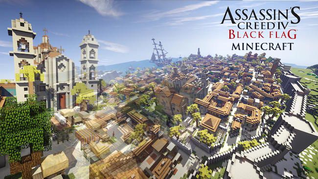 Assassins Creed Map for MCPE MinecraftPE | minecraft
