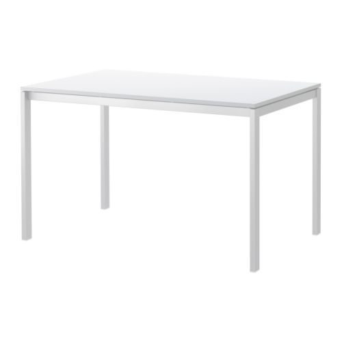 IKEA MELLTORP Table White Cm The Melamine Table Top Is Moisture Resistant,  Stain Resistant And Easy To Keep Clean.