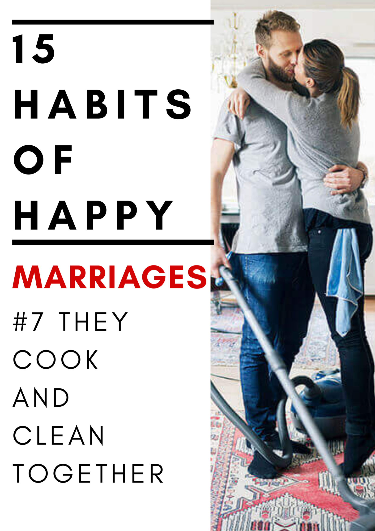 15 Habits Of Happy Marriages