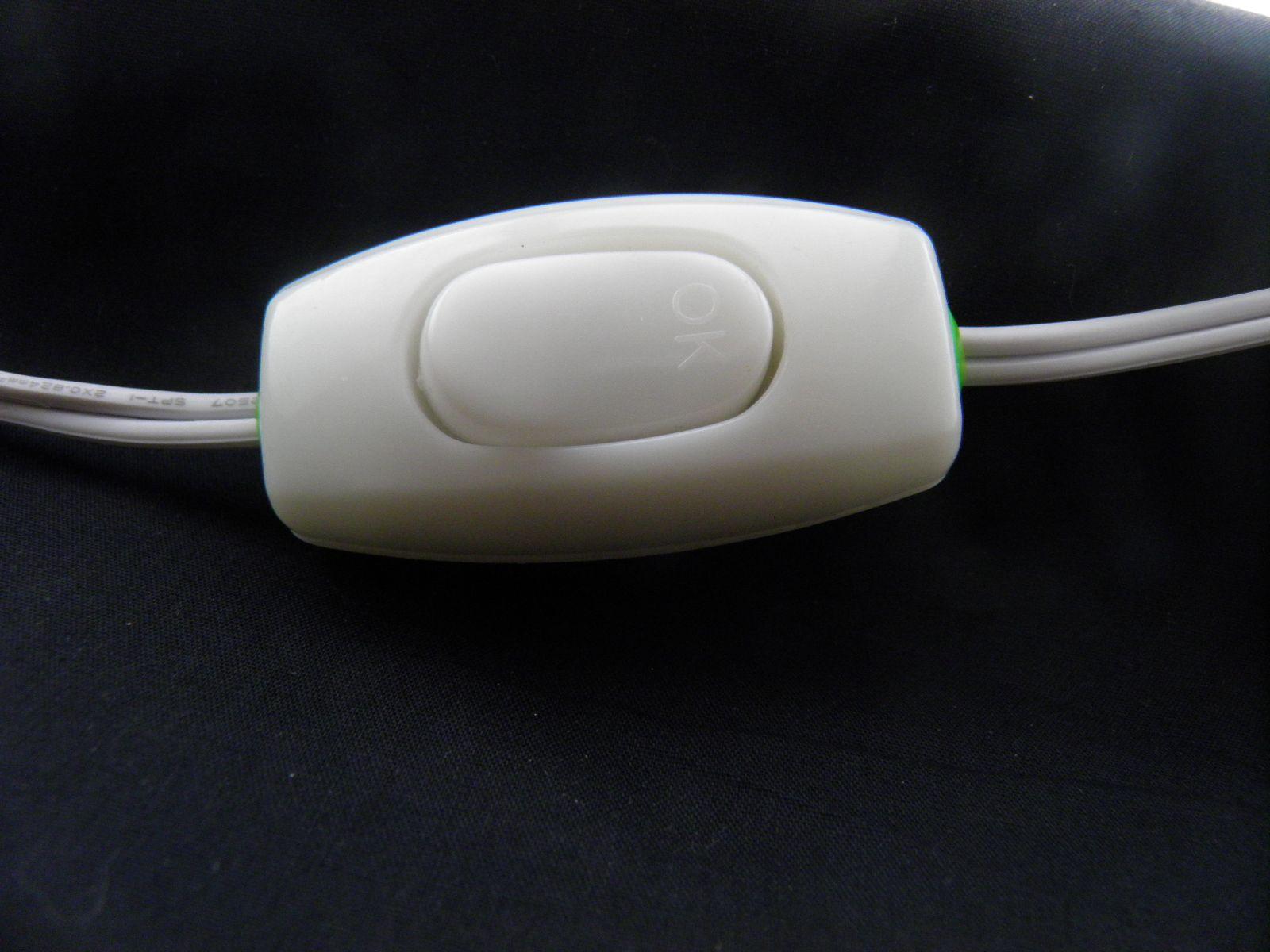 Installing Inline Switch on Lamp Cord (120Vac; 230Vac; 100Vac ...