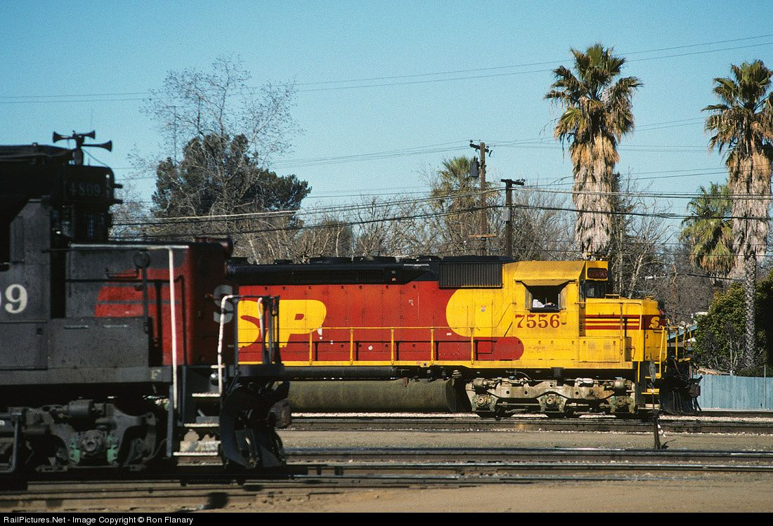 Photo SP 7556 Southern Pacific Railroad