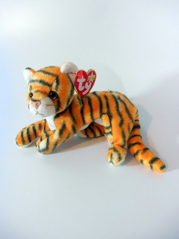 TY BEANIE BABY INDIA THE TIGER 3d0fe9a7b60