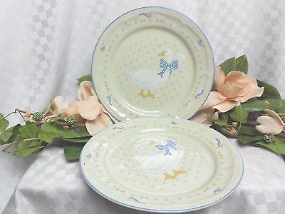 Tienshan China \u0026 Dinnerware White Goose /Duck set 2 Dinner Plate & Tienshan China \u0026 Dinnerware White Goose /Duck set 2 Dinner Plate ...