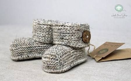 knitted baby booties - Google Search | Baby Bootees and Shoes ...