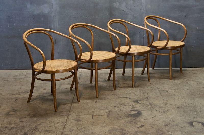 Awesome Old Bentwood And Cane NYC Cafe Chairs : Century Vintage Furnishings U0026 Design