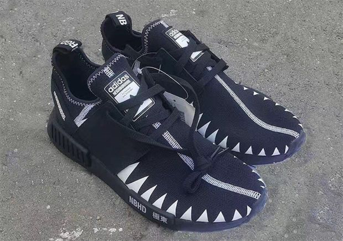 5c07f5cf0c1b0 NEIGHBORHOOD x adidas NMD Black Boost