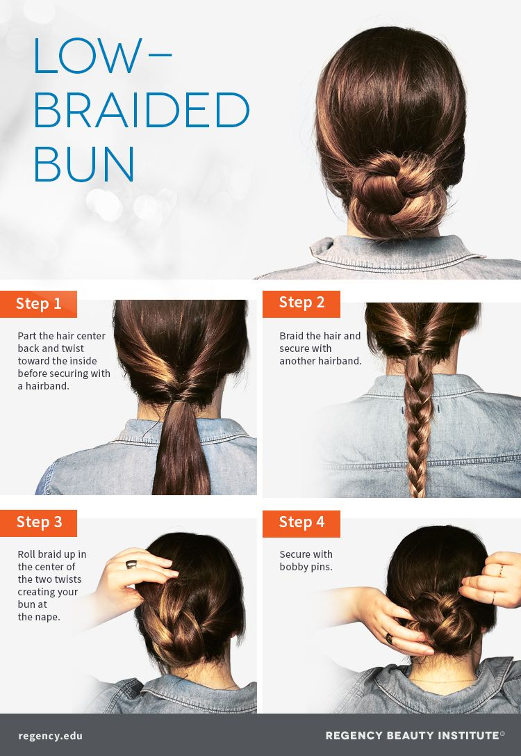 different hair style pictures how to create a low braided bun 7970