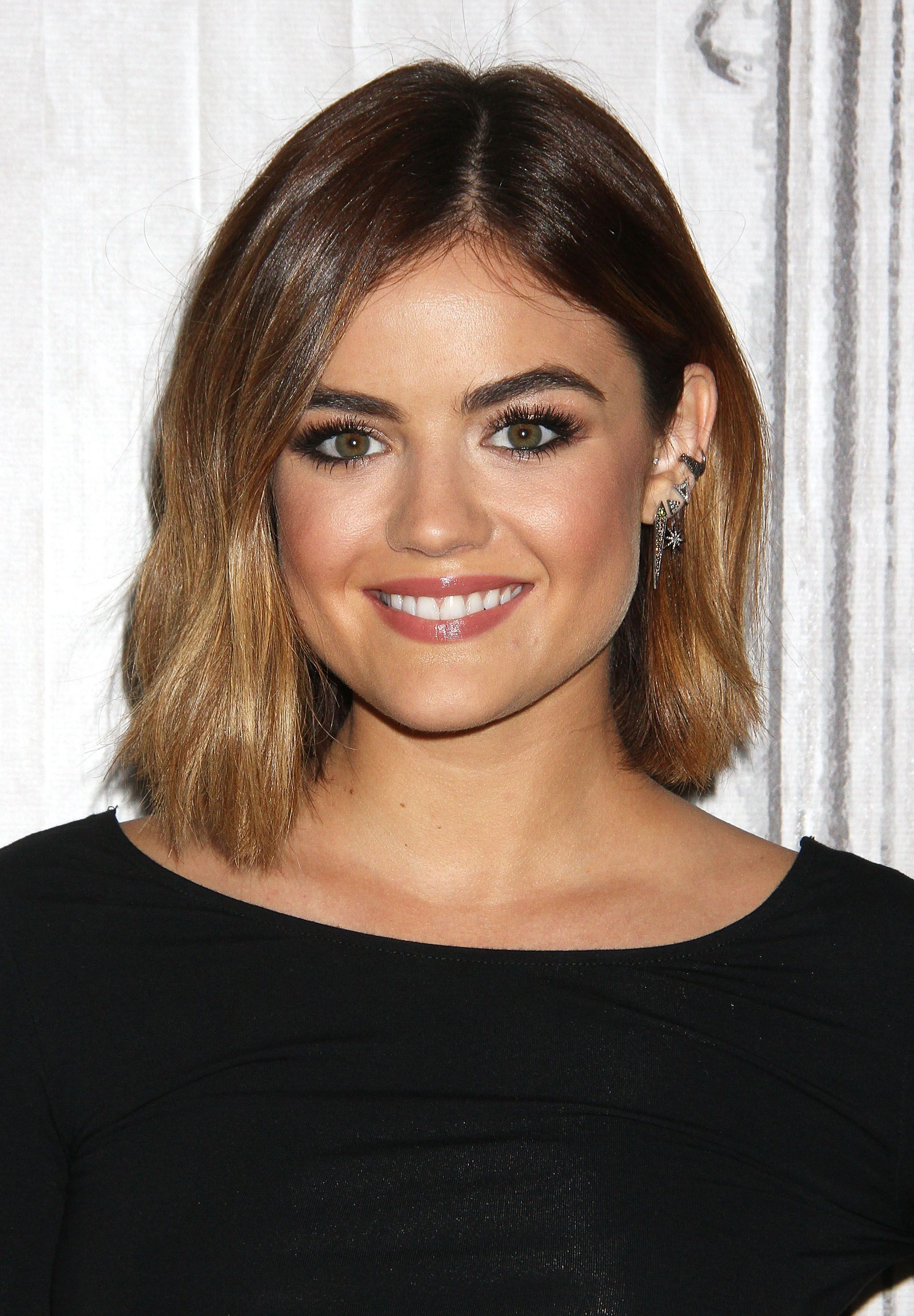Lucy haleus blonde days are over u see her new hair color hair