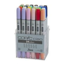 COPIC ciao Set of 24 Basic Colours