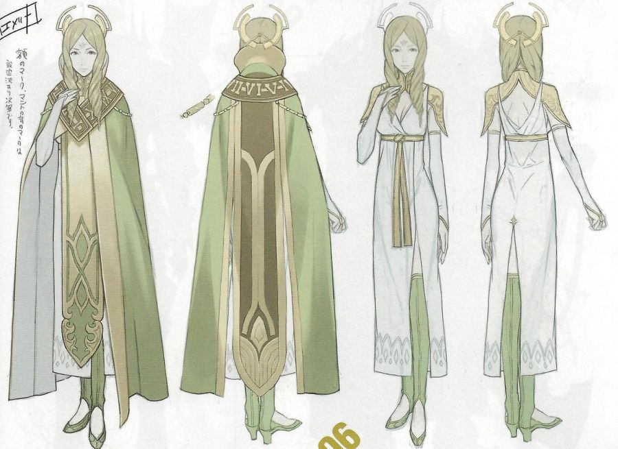 Fire Emblem: Awakening Concept Art