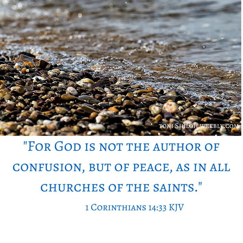 1 Corinthians 14:33 KJV | Favorite Scriptures | Design, Salt