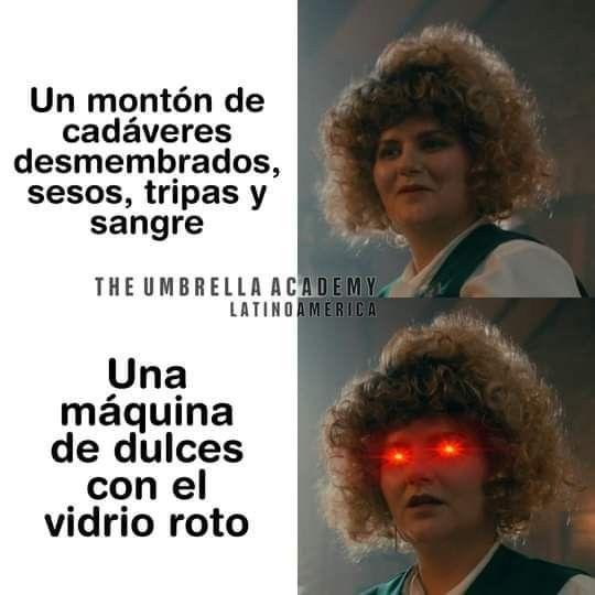 Pin De Rosario En The Umbrella Academy Memes De Peliculas Memes Para Reir Memes De Stranger Things
