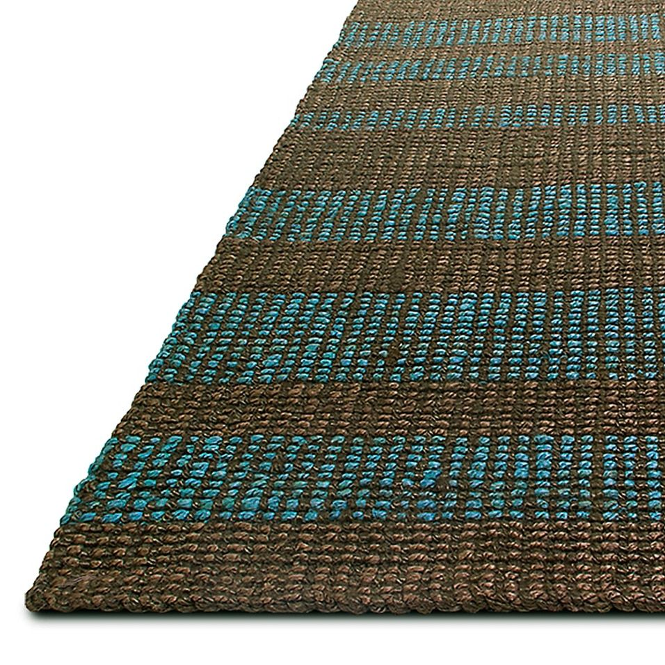 Fab Habitat Gunnison 3' X 5' Handwoven Area Rug In Brown - Handcrafted in India by local artisans, the Fab Habitat Gunnison Rug offers a warm, welcoming feel to your home. Made from recycled jute, and organically dyed, this durable, handwoven rug is suitable for most decór styles.