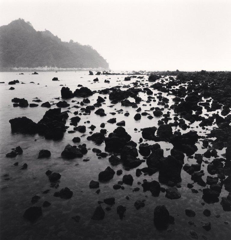 Jeju Island Beaches: Michael Kenna, Black Beach Rocks, Supseom, Jeju Island