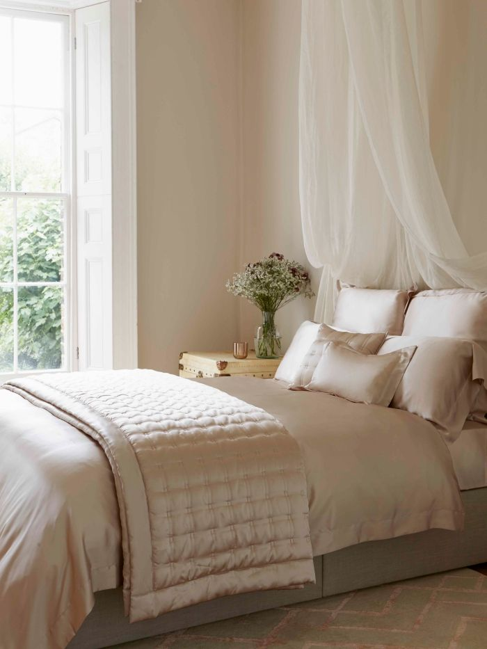 ▷ 1001 + modèles inspirantes de la chambre blanche et beige - modele chambre a coucher