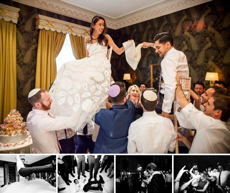 A Halfpenny London Bride For An Interfaith Mexican Jewish Wedding At Searcys At 30 Pavilion Road Knightsbridge London Uk Smashing The Glass Jewish Weddin Jewish Wedding Jewish Wedding Dance Interfaith Wedding