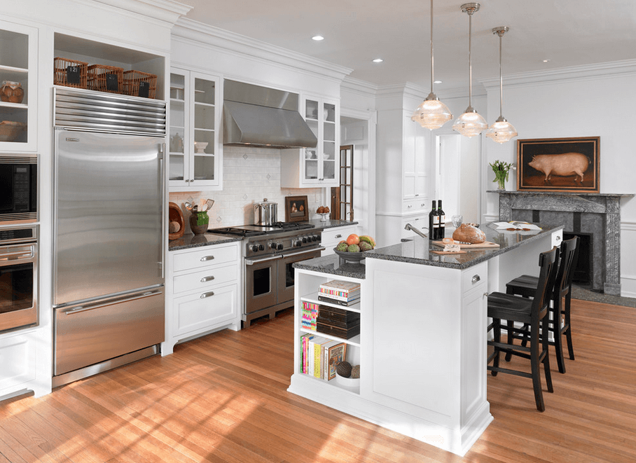 30 Attractive Kitchen Island Designs For Remodeling Your Kitchen Part 16