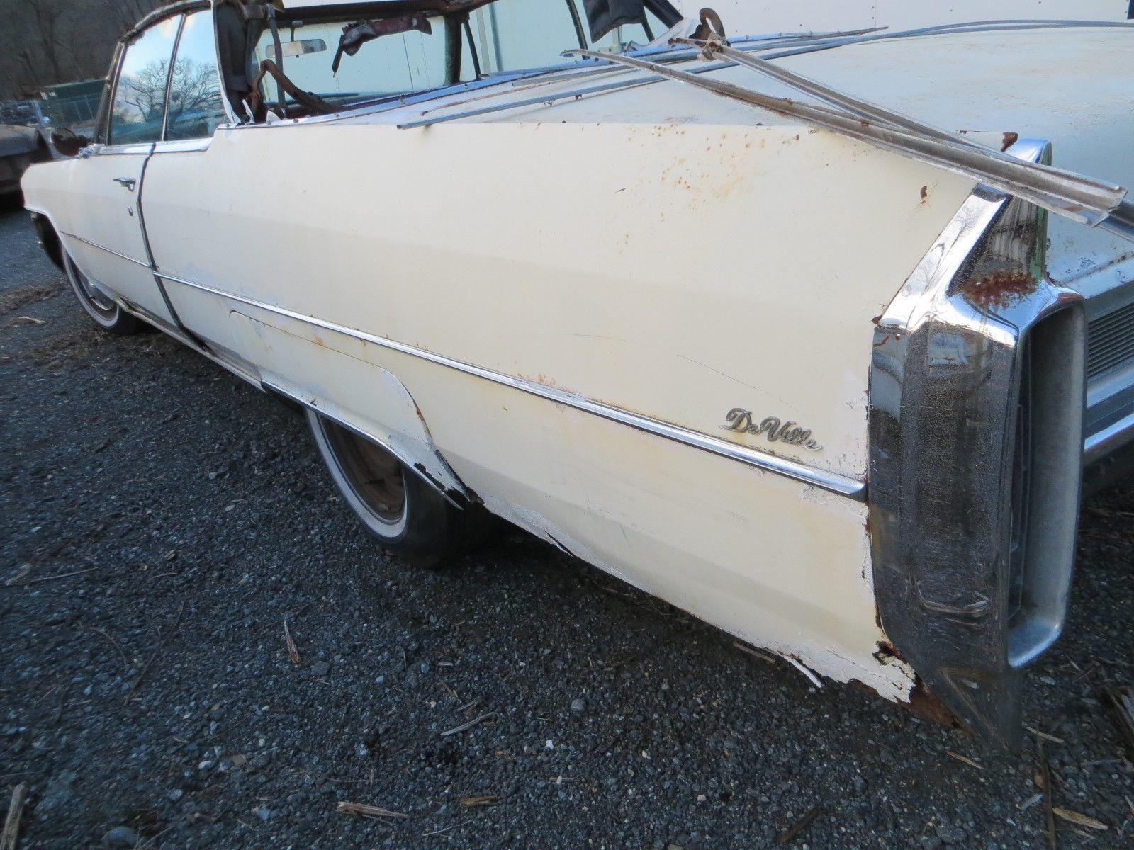 eBay: 1965 Cadillac DeVille 1965 Cadillac DeVille Convertible white