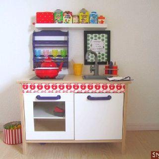ikea kinderk che erweitern doppelwaschbecken stein. Black Bedroom Furniture Sets. Home Design Ideas