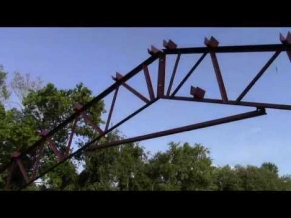 STEEL TRUSSES and POLE BARN KITS American Made - YouTube #shedplans #polebarnhomes