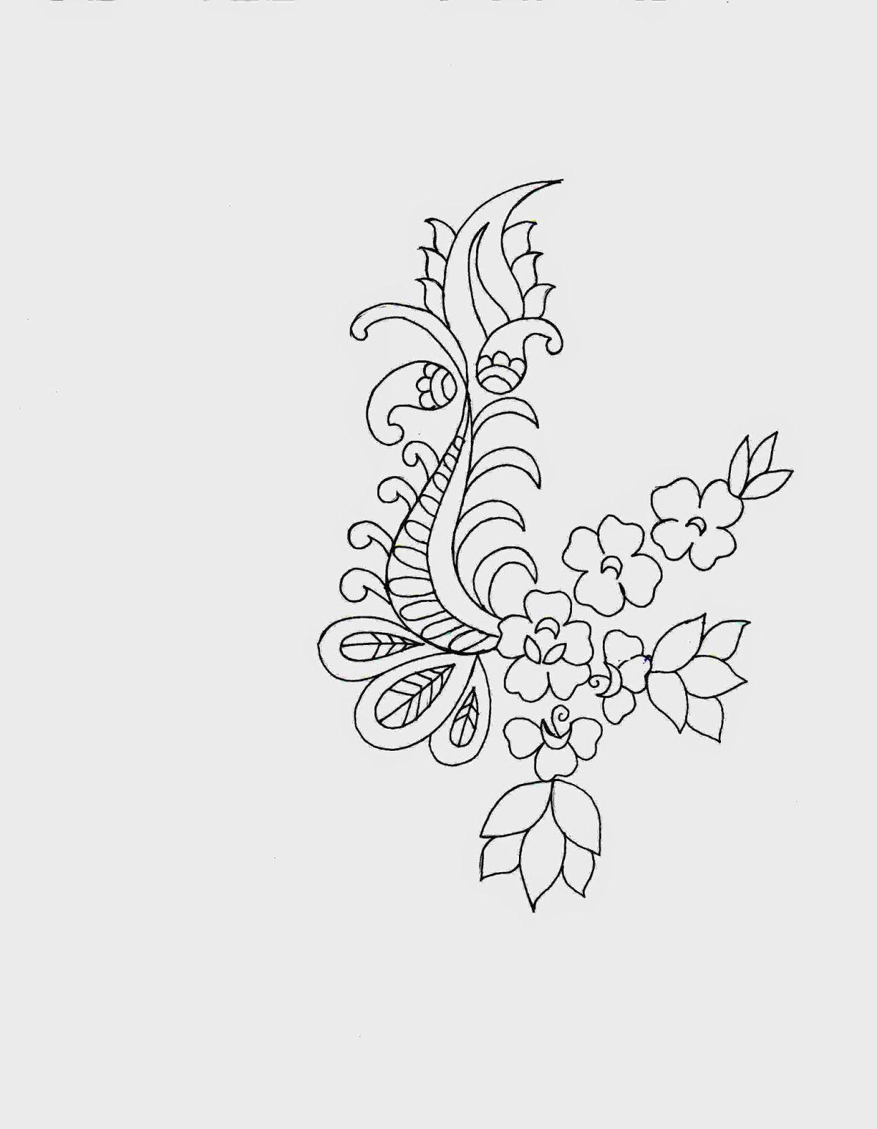 Kleurvolle Applique Skets Ontwerp | Embroidery Designs | Pinterest | Sketch Design Embroidery ...