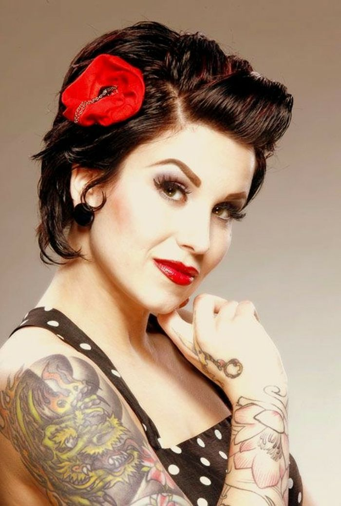 Rockabilly Frisuren Maenner Kurz