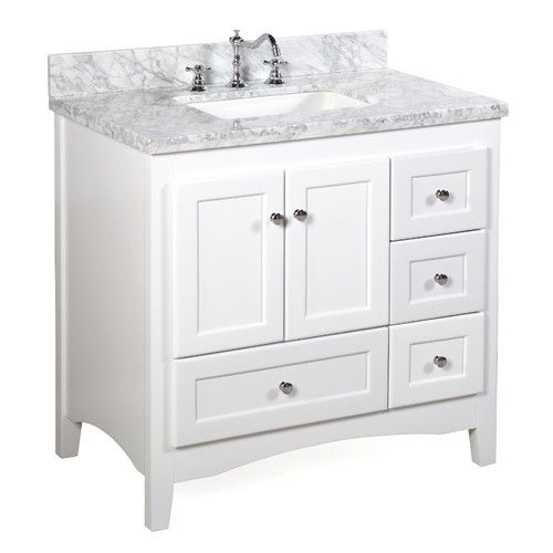 Weddle 36 Single Bathroom Vanity Set 36 Inch Bathroom Vanity White Vanity Bathroom 36 Inch Vanity