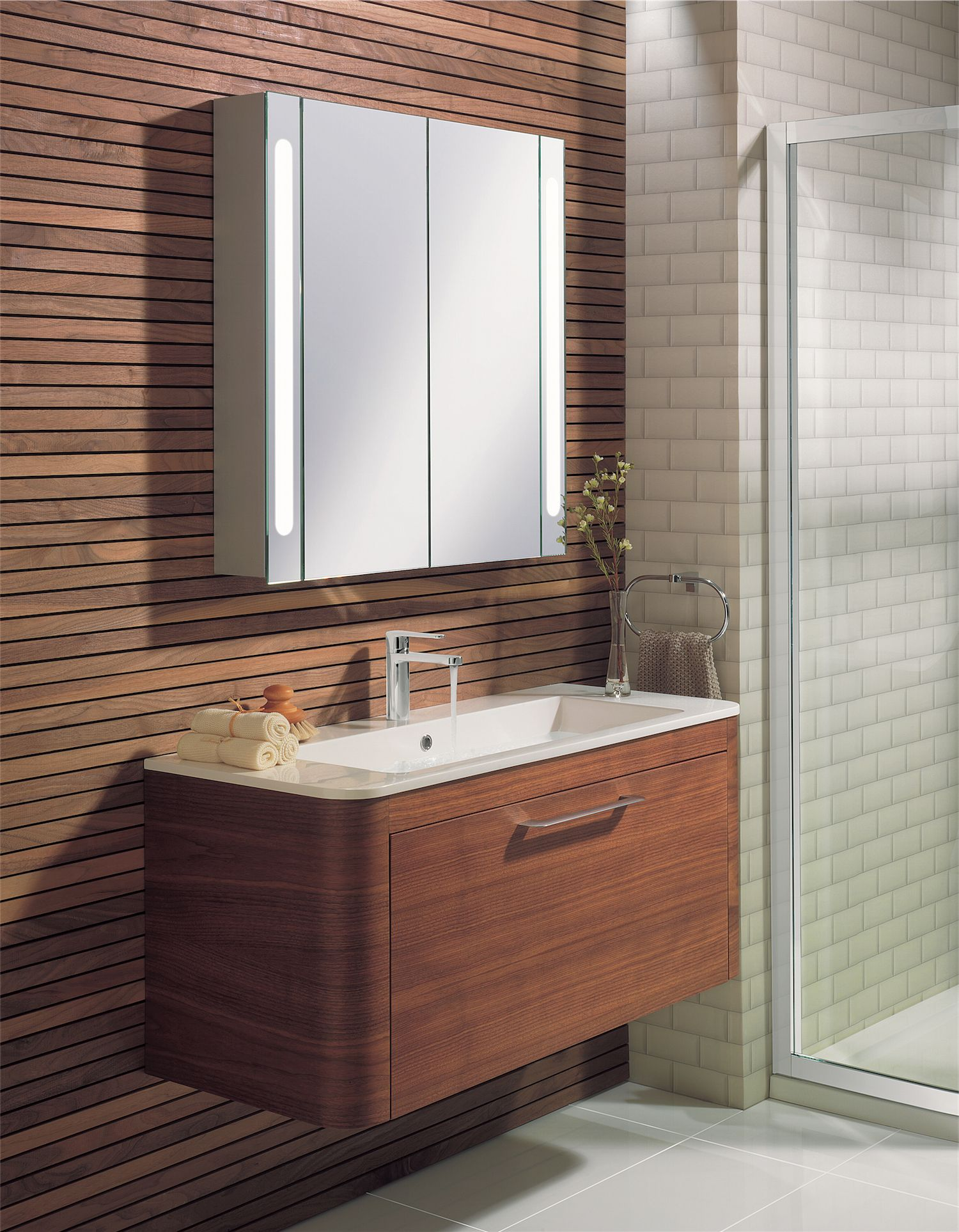 Walnut bathroom furniture uk - Celeste American Walnut Bathroom Furniture Range From Crosswater Http Www Bauhaus