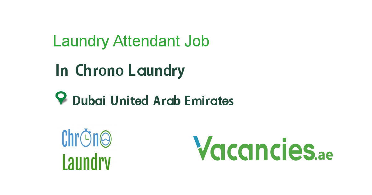 Laundry Attendant In 2020 With Images Job Positivity Job