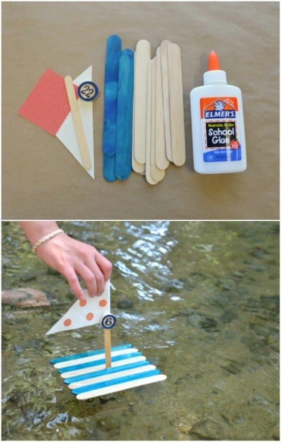 50 Fun Popsicle Crafts You Should Make With Your Kids This Summer #diy #crafts #craftsticks #kidscrafts #funcrafts