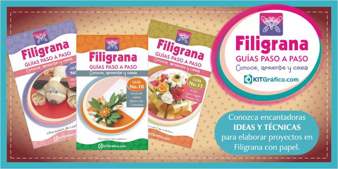 Inicio - kitGrafico - Filigrana (Quilling) con papel-tarjetas para regalos
