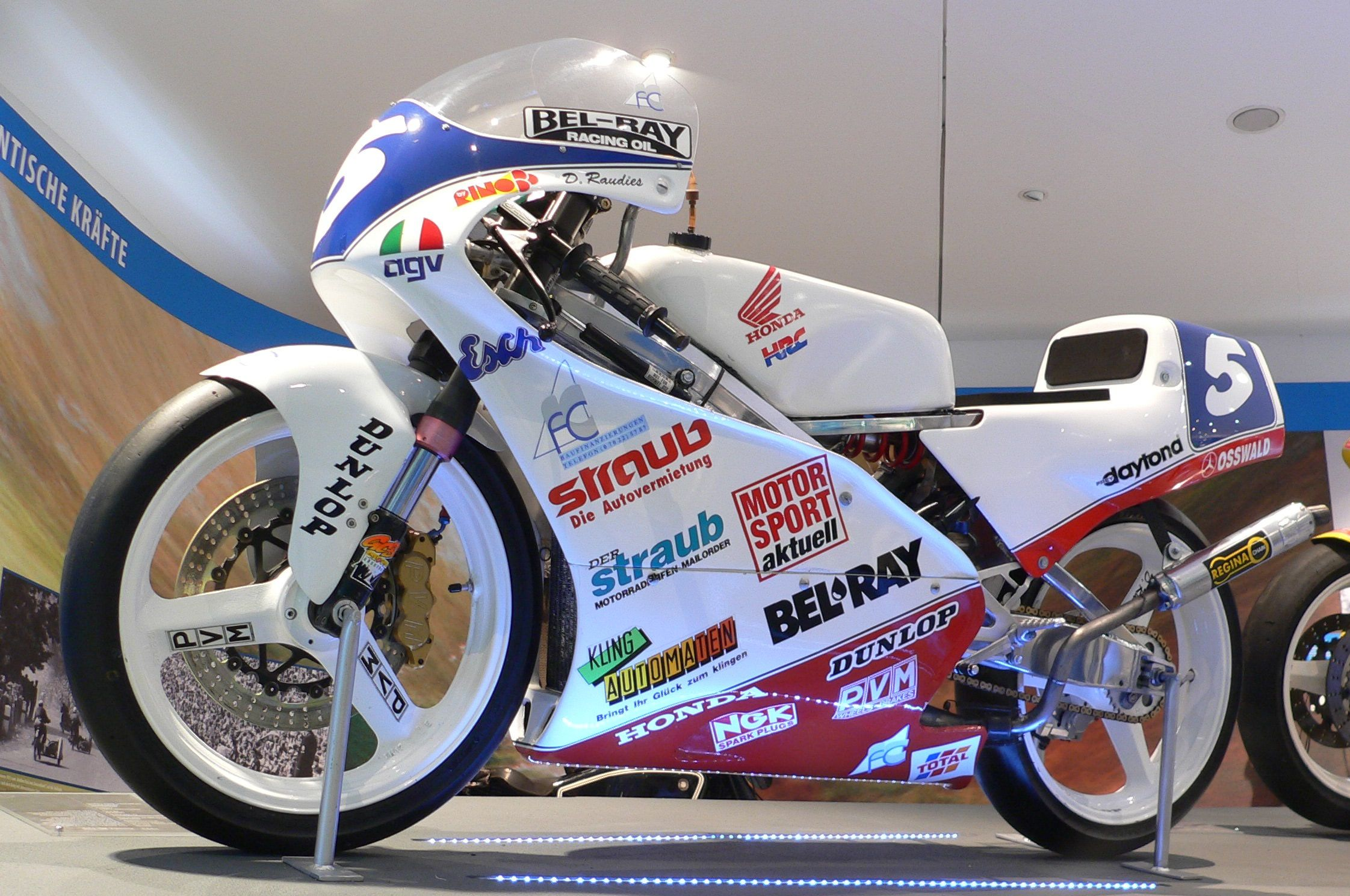 Would love to have this early 1991 RS125cc Honda race bike in the collection. One day...