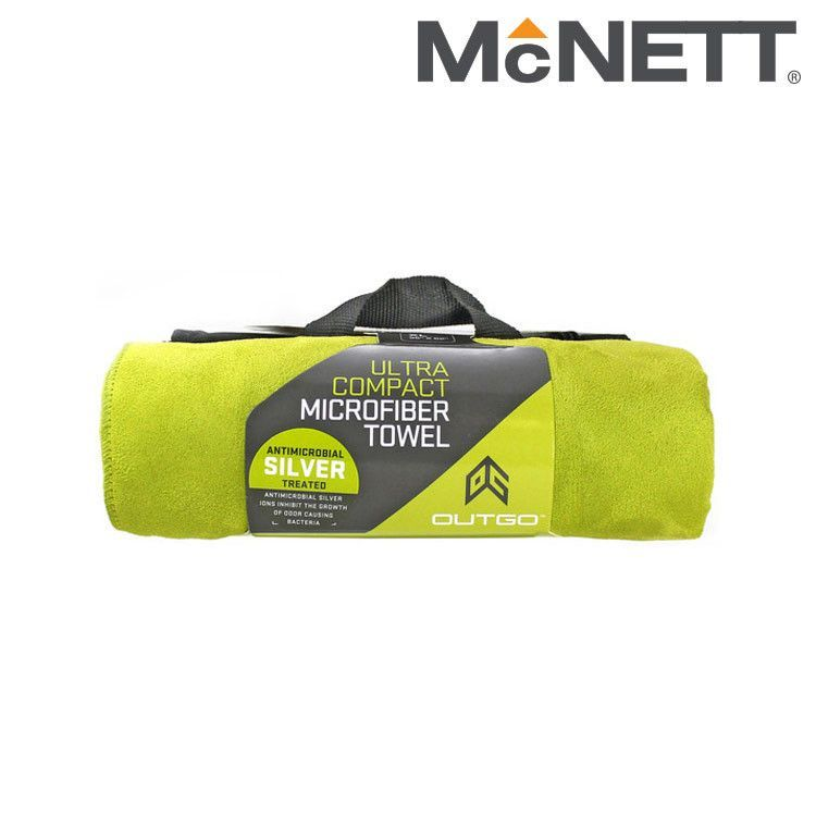 McNett Outgo 68155 Ultra Compact Microfiber Towel - OG Green
