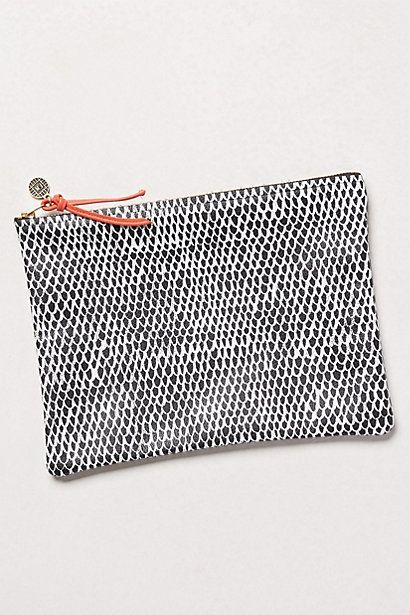Serpent Scale Pouch #anthropologie