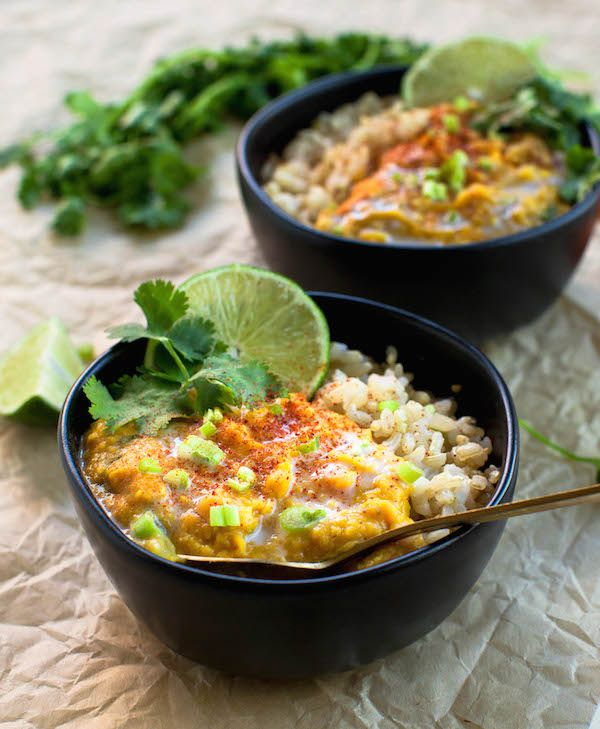 Sweet Potato Red Lentil Curry Cheap Vegan Recipes