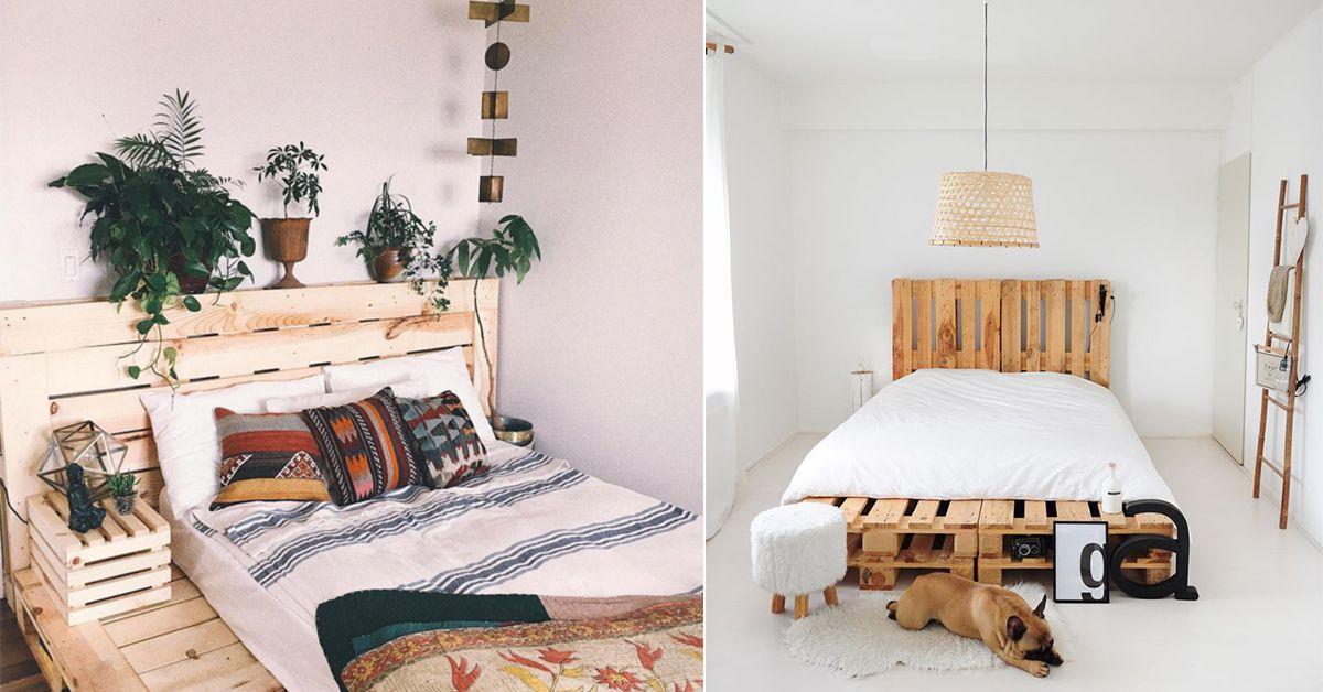 Comment fabriquer un lit en palette? | Meuble palette, Lit en palette et Lit facile
