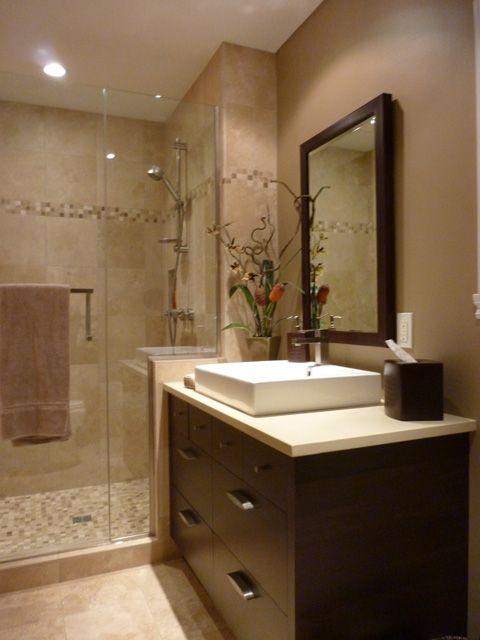 salle de bain petite salle de bain pinterest salle. Black Bedroom Furniture Sets. Home Design Ideas