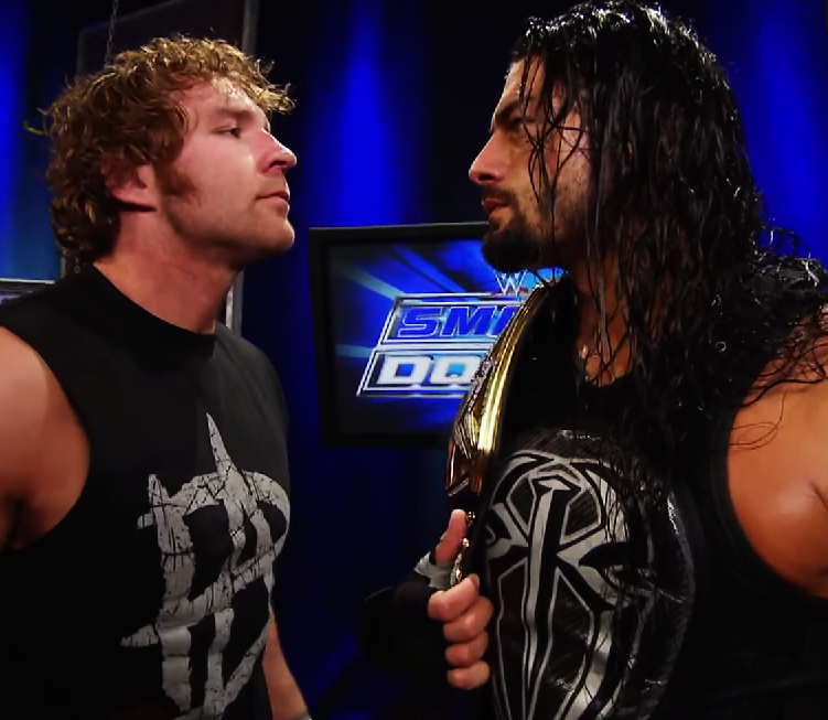 Dean Ambrose And Roman Reigns Smackdown May 14 2015 Render Roman Reigns Dean Ambrose The Shield Wwe