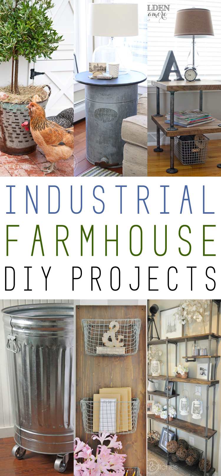 Farmhouse fridays industrial farmhouse diy projects for Decoracion hogar valencia