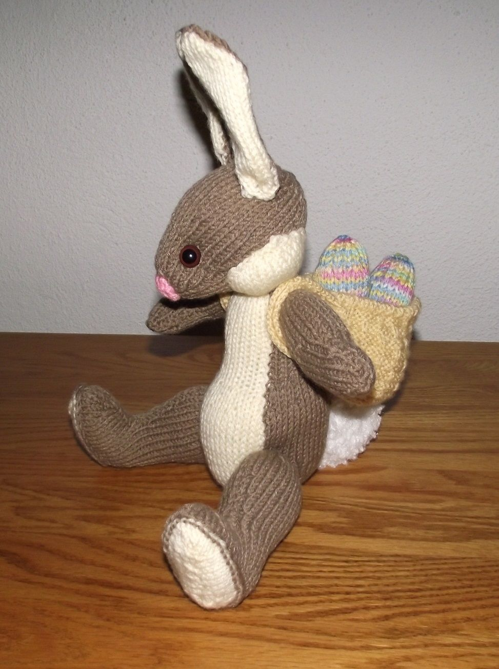 Easter Bunny by Alan Dart. | knitted toys | Pinterest | Darts ...