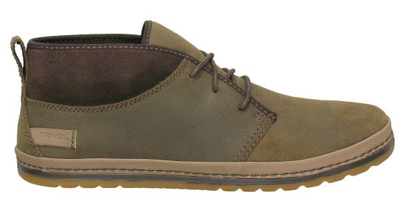 Teva Men Cedar Canyon Suede Shoes in Ash Brown