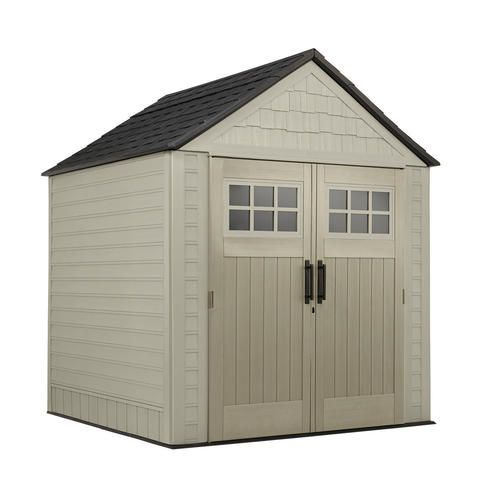 Rubbermaid X Large 7 X 7 Building At Menards Rubbermaid X Large 7 X 7 Building Rubbermaid Storage Shed Diy Storage Shed Rubbermaid Shed