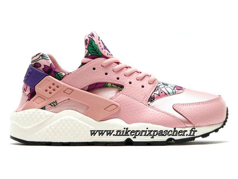 Nike Air Huarache Chaussures Pour Femme , Nike Boutique Pas Cher rose