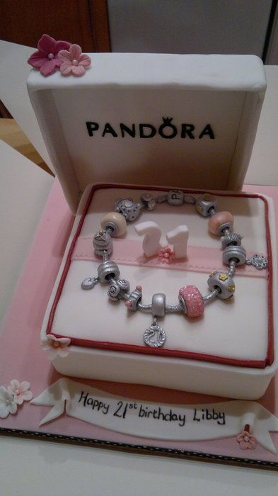 charms pandora gateau