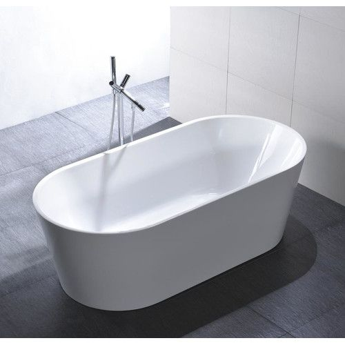 Laguna 67 X 32 Freestanding Soaking Bathtub Free Standing Bath Tub