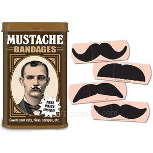 Halloween Costumes Self Adhesive Fake Beard Moustache Kit Facial Hair Cosp JR