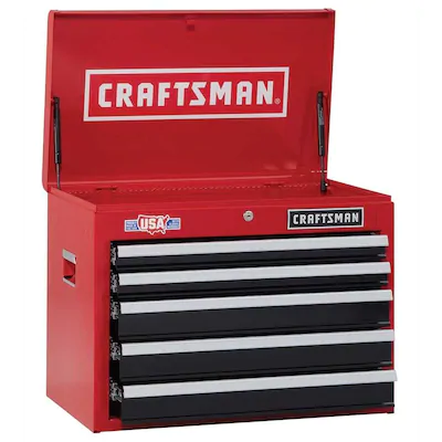 CRAFTSMAN 2000 Series 26in W x 19.75in H 5Drawer Steel